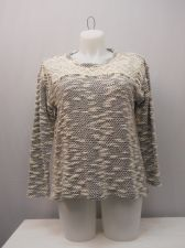 Buy PLUS SIZE 1X Women's Tunic Sweater STYLE&CO. Studded Lace Yoke Long Sleeves