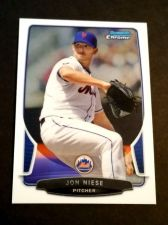 Buy MLB JON NIESE METS SUPERSTAR 2013 BOWMAN CHROME #165 MNT