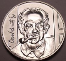 Buy Rare Gem Bu Silver Hungary 1976-BP 200 Forint~Gyula Derkovits, Painter~Free Sh
