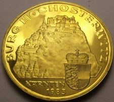 Buy Proof Austria 1983 20 Schilling~65,000 Minted~Hochosterwitz Castle~Free Shipping