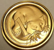Buy Cameo Proof Australia 1981 Cent~Only 86,000 Minted~Feathered Tailed Glider~Fr/Sh