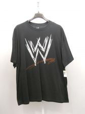 Buy BIG TALL SIZE 3XL Mens T Shirt WWE Wrestling Black Short Sleeved Crew Neck