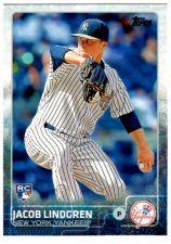 Buy 2015 Topps Update #US119 JABOB LINDGREN RC New York Yankees