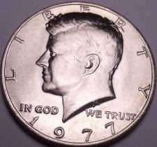 Buy United States Unc 1977-P Kennedy Half Dollar~Free Shipping