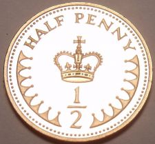 Buy Cameo Proof Great Britain 1982 Half Penny~107,000 Minted~Free Shipping