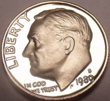 Buy United States Proof 1980-S Roosevelt Dime~We Have Proof US Coins~Free Shipping
