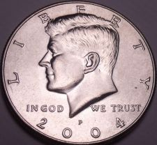 Buy United States Unc 2004-P Kennedy Half Dollar~Free Shipping