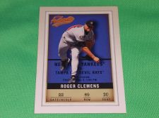 Buy MLB Roger Clemens New York Yankees 2002 Fleer authentix Baseball MNT