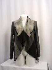 Buy PLUS SIZE 0X Sweater Coat STYLE&CO Grey Combo Long Sleeve Collar Neck Acrylic