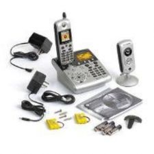 Buy Motorola Cordless Phone with Integrated Security / Baby Monitoring System SD4581