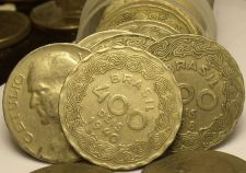 Buy Rare Full Roll (40 Coins) Brazil 400 Reis Coins 1938-40~Dr. Vargas~Free Ship