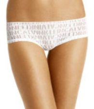 Buy A391H Calvin Klein NEW D3139 Women's Tatoo Signature Logo Sheer Lace Hipster PR