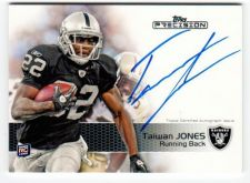 Buy NFL 2011 Topps Precision Taiwan Jones AUTO RC MNT