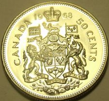 Buy PROOF CANADA 1968 50 CENTS~WE HAVE PROOFS~FREE SHIPPING~