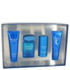 Buy Perry Ellis Aqua by Perry Ellis Gift Set -- 3.4 oz Eau De Toilette Spray + 2.75 oz De