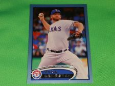 Buy MLB Ryan Dempster Rangers SUPERSTAR 2012 TOPPS BLUE BORDER BASEBALL MNT