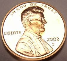 Buy BLAZING RED 2002-S LINCOLN CENT PROOF~~WOW~~FREE SHIP~~