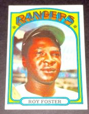 Buy VINTAGE ROY FOSTER RANGERS 1972 TOPPS #329 GD-VG