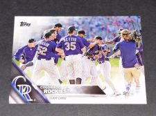 Buy MLB COLORADO ROCKIES TEAM 2015 TOPPS SERIES 1 BASEBALL GEM MNT