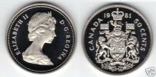 Buy PROOF CANADA 1981 50 CENTS~CAMEO FROST WHITE~FREE SHIPPING~