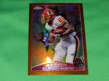 Buy NFL Clinton Portis Redskins 2014 Topps Chrome Gold Refractor 234/649 Mnt
