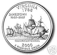 Buy 2000-P VIRGINIA BRILLIANT UNCIRCULATED STATE QUARTER