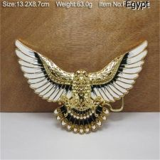 Buy Egyptian Metal BELT BUCKLE,Golden Bird Fly Enamel Wings,Movie Prop,Egypt Costume
