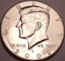 Buy United States Unc 2002-D Kennedy Half Dollar~Free Shipping