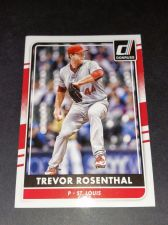 Buy MLB Trevor Rosenthal Cardinals SUPERSTAR 2015 DONRUSS BASEBALL GEM MNT