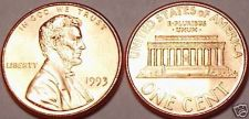 Buy 1993-P GEM UNCIRCULATED LINCOLN CENT~FREE SHIPPING INC~