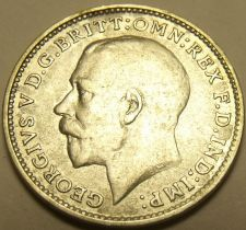 Buy Au/Unc Silver Great Britain 1918 3-Pence~See All Our Silver Coins~Free Shipping
