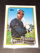 Buy VINTAGE BARRY BONDS PIRATES 1989 TOPPS #620 GD-VG