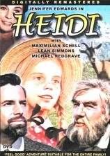 Buy Jennifer Edwards Heidi DVD (color) Max Schell Michael Redgrave Johana SPYRIS