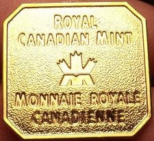 Buy Royal Canadian Mint Uncirculated Medallion~Bendable Clips On The Back~Fr/Ship