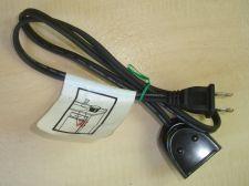 Buy Presto ac POWER CORD magnetic plug 0692505 - electric skillet griddle deep fryer