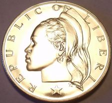Buy Proof Liberia 1968 10 Cents~1st Year Ever~Low Mintage Of 14,396~Free Shipping
