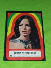 Buy VINTAGE 1977 CHARLIES ANGELS TELEVISION SERIES COLLECTORS STICKER CARD #34 GD-VG