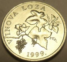 Buy Gem Unc Croatia 1999 2 Lipe~GrapeVine~VITIS VINIFERA~Free Shipping