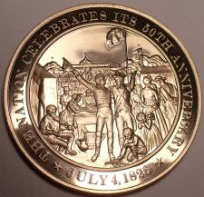 Buy 1826~NATION CELEBRATES ITS 50TH ANNIVERSARY~ADAMS~JEFFERSON~BRONZE~FREE SHIPPING