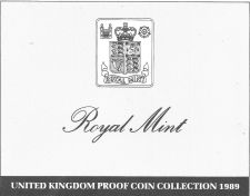 Buy 1989 Great Britain 9 Coin 3 Page C.O.A. Document Set~Free Shipping