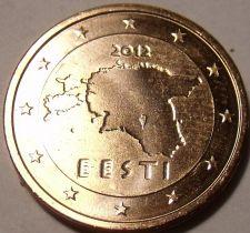 Buy Brilliant Uncirculated Estonia 2012 1 Euro Cent~We Have Estonia Coins~Free Ship
