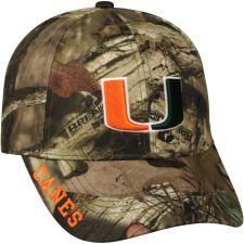 Buy NCAA Miami Hurricanes Mossy Cap Hat
