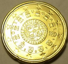 Buy Gem Unc Portugal 2011 20 Euro Cents~We Have Portugal Coins~Nice Design~Free Ship