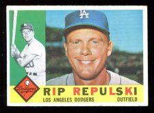 Buy 1960 TOPPS RIP REPULSKI, #265, EX-MT (60T0231)