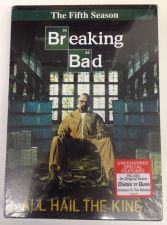 Buy new BREAKING BAD fifth Season 5 (five) DVD 3 Disc BOXED SET Bryan CRANSTON