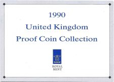 Buy 1990 Great Britain 9 Coin 3 Page C.O.A. Document Set~Free Shipping