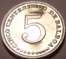 Buy PROOF PANAMA 1973 5 CENTESIMOS~SEE ALL OUR PROOF COINS~FREE SHIPPING~