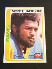Buy VINTAGE MONTE JACKSON RAMS 1978 TOPPS FOOTBALL GD-VG