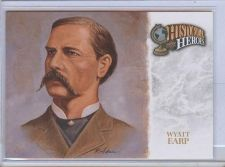 Buy RARE 2008 UD FOOTBALL HEROES HISTORICAL HEROES WYATT EARP MNT