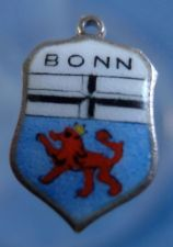 Buy BONN Enamel & Sterling Silver Travel Shield Souvenir Charm 16490